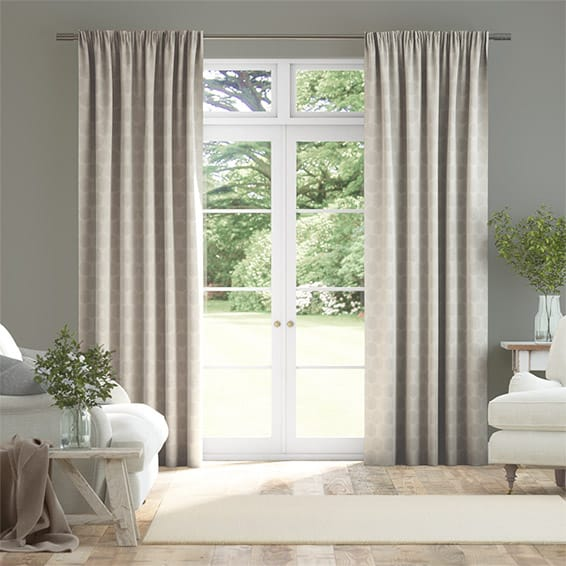 Sprigs Woodland Neutral Curtains