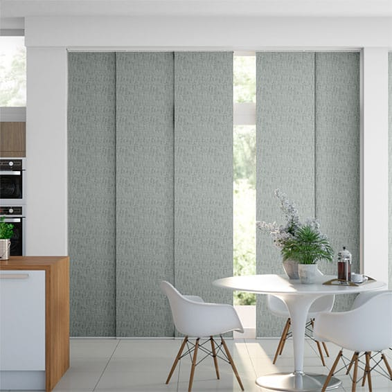 Stucco Silver Panel Blind
