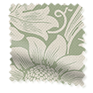 William Morris Sunflower Soft Green Curtains slat image
