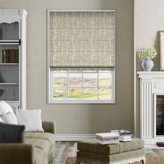Sussex Golden Barley Roman Blind