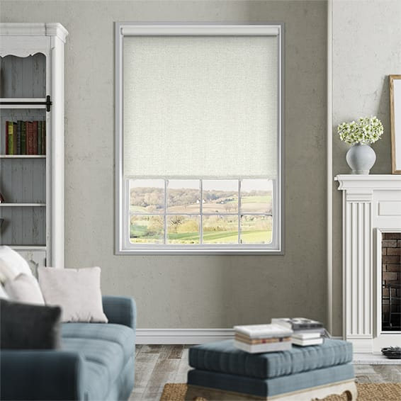 Thermal Luxe Ivory Blockout Roller Blind