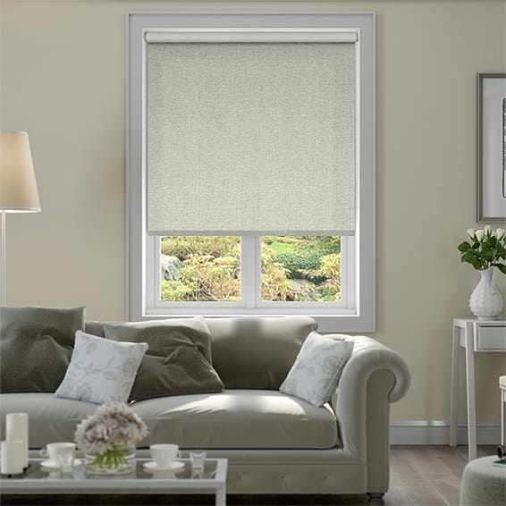 Thermal Luxe Pebble Blockout Roller Blind