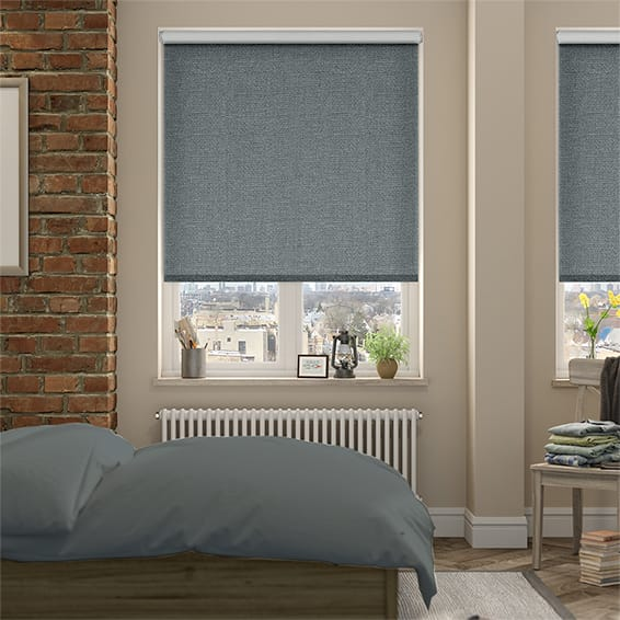 Thermal Luxe Steel Blockout Roller Blind