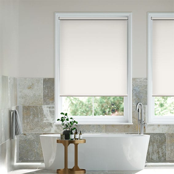 Titan Alabaster Blockout Roller Blind