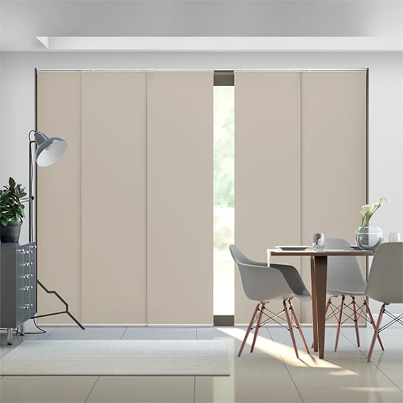 Titan Carrington Beige Panel Blind