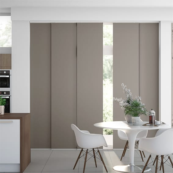 Titan Fairview Taupe Panel Blind