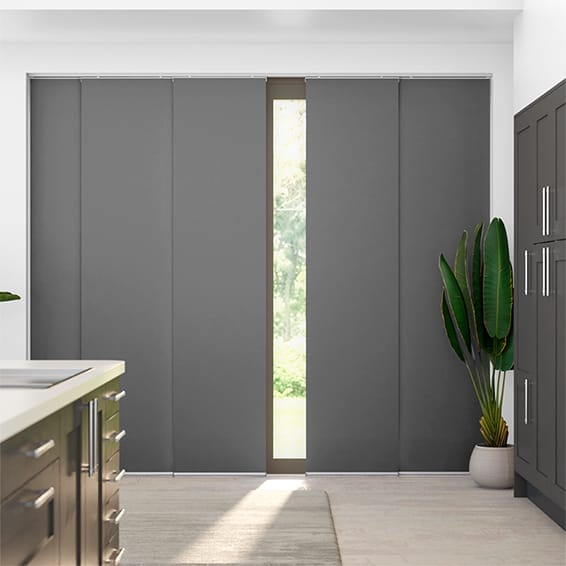 Titan Harbour Grey Panel Blind