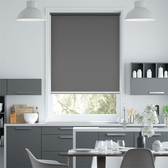 Electric Titan Wrought Iron Roller Blind