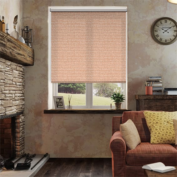 Tocca Flame Roller Blind