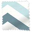 Vector Border Denim Roman Blind slat image