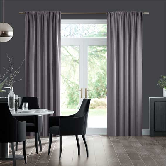 Velvet EnVogue Lilac Curtains