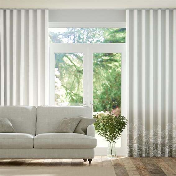 S-Fold Dill Pebble Curtains