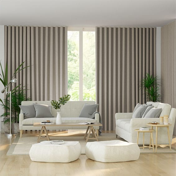 S-Fold Pure Linen Curtains