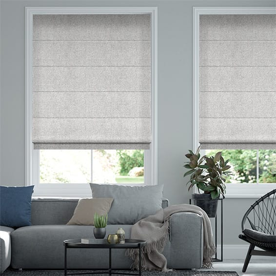 Waycroft Grey Roman Blind
