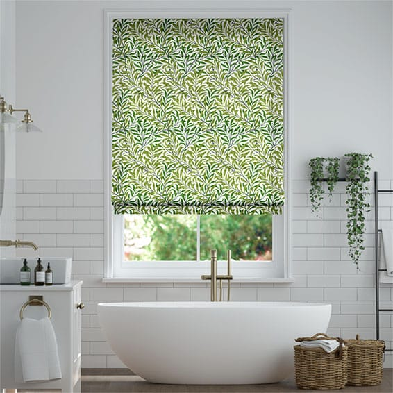 William Morris Willow Bough Vine Roman Blind